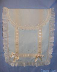 Colcha para bebé artesanal