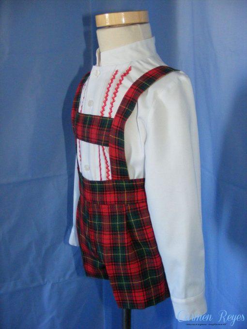 Conjunto de pantalón y camisa para niño