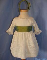 Vestido de celebración para niña