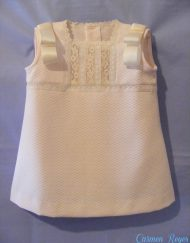 Vestido bebé artesanal