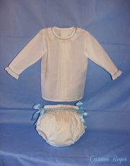 Conjunto braguita y camisa niño Carmen Reyes