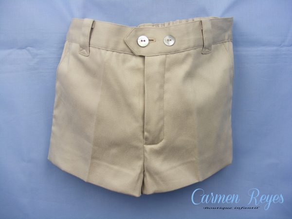 Pantalón raso niño Carmen Reyes
