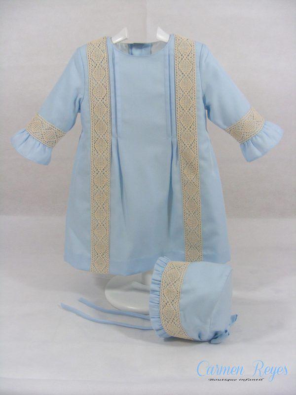 Vestido bebé Carmen Reyes
