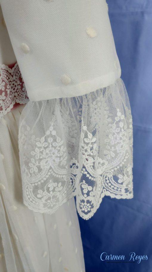 Vestido comunión artesanal Carmen Reyes