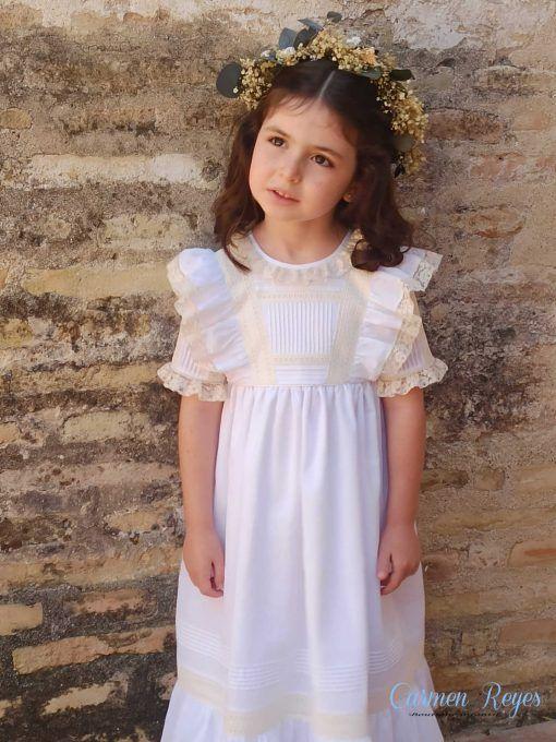 Vestido niña celebración Carmen Reyes